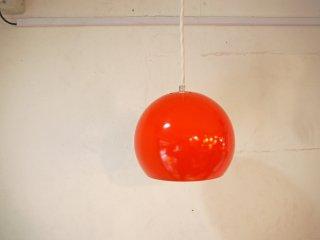 デンマークビンデージ danish vintage ボールペンダントライト ball pendant light パントンスタイル スペースエイジ オレンジ ミッドセンチュリー ビンテージ ★