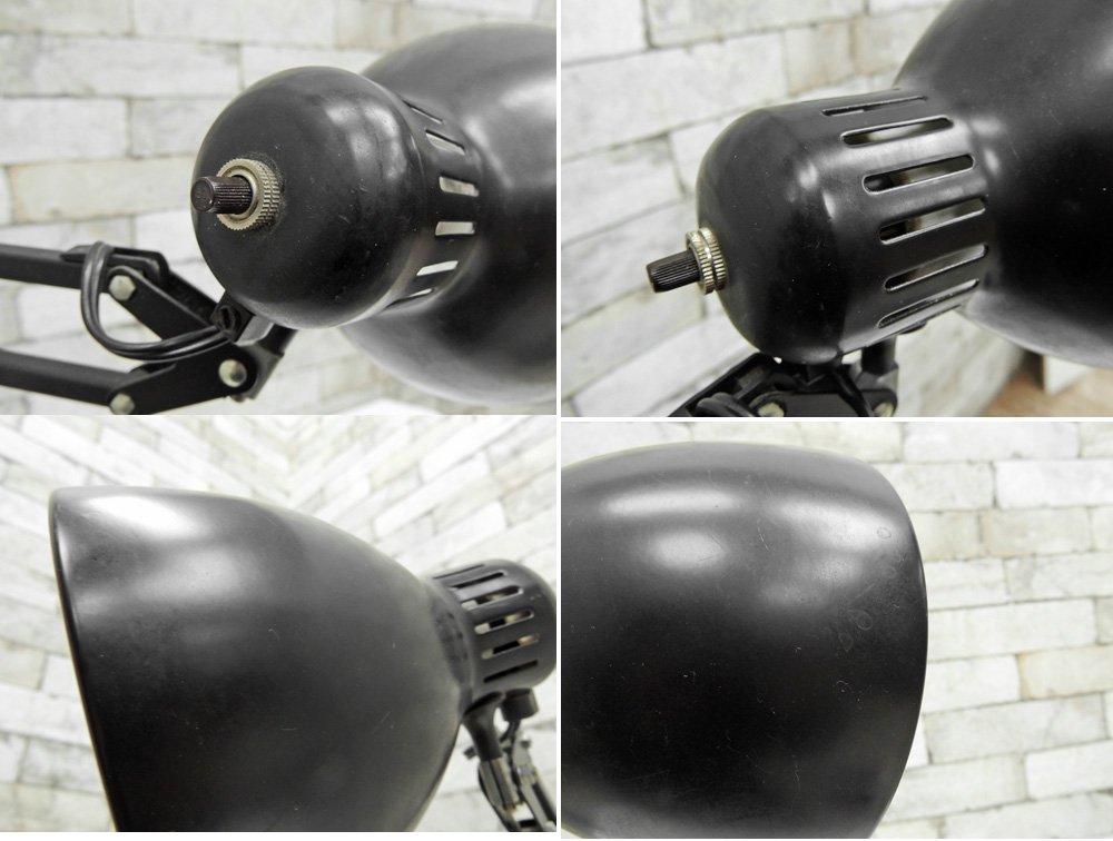 ヤマギワ yamagiwa ラクソ LUXO バイオライト S2334B デスクランプ ブラック クランプ 2007年製 ●