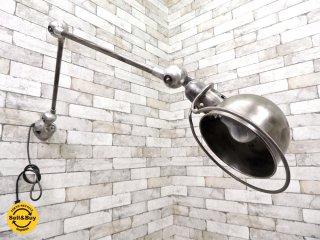 ジェルデ Jielde ビンテージ ウォールランプ 壁付け 2アーム 1960年代 フランス インダストリアル ●