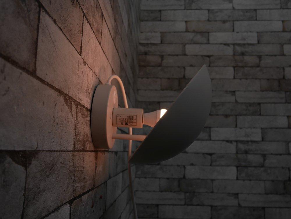 ルイスポールセン Louis Poulsen PH ハット PH hat ウォールランプ コード付き ホワイト 北欧 デンマーク ●