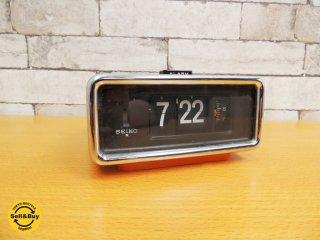 セイコー SEIKO パタパタ時計 DP679 アラーム付き 昭和レトロ ●
