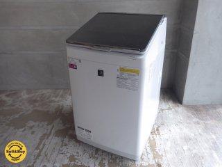 シャープ SHARP タテ型洗濯乾燥機 11kg 2019年製 ES-PU11C-S 超音波ウォッシャー搭載♪