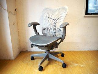 ハーマンミラー Herman Miller ミラチェア Mirra Chair スタジオ7.5 アルパインカラーバック × シートカラー シャドー ★