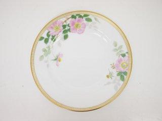 大倉陶園 OKURA フェアリーローズ マチルダ デザート皿 20cm プレート バラ 白磁 B ●