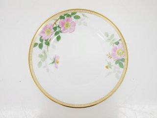 大倉陶園 OKURA フェアリーローズ マチルダ デザート皿 20cm プレート バラ 白磁 C ●
