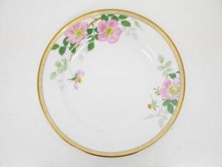 大倉陶園 OKURA フェアリーローズ マチルダ デザート皿 20cm プレート バラ 白磁 D ●