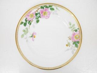 大倉陶園 OKURA フェアリーローズ マチルダ デザート皿 20cm プレート バラ 白磁 E ●