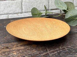 三谷龍二 パン皿 17� 山桜 木の器 プレート 平皿 現代作家 A ■