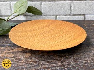 三谷龍二 パン皿 17� 山桜 木の器 プレート 平皿 現代作家 C ■