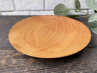 三谷龍二 パン皿 17� 山桜 木の器 プレート 平皿 現代作家 G ■