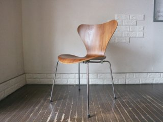 フリッツハンセン Fritz Hansen セブンチェア Seven Chair アルネヤコブセン Arne Jacobsen ウォールナット ◎