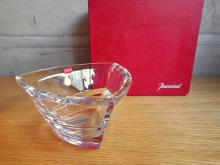 バカラ Baccarat カレイドスコープ フラワーベース 花瓶 クリスタルガラス 箱付き ♪