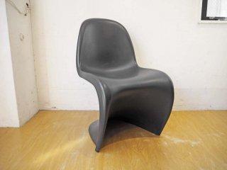 ヴィトラ vitra パントンチェア Panton Chair ブラック ヴェルナー・パントン Verner Panton スタッキングチェア ★