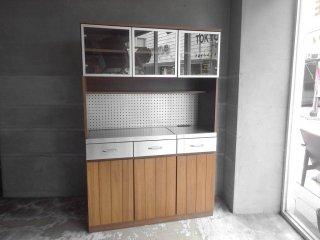 ウニコ unico ストラーダ STRADA キッチンボード レンジボード 食器棚 W120cm ♪