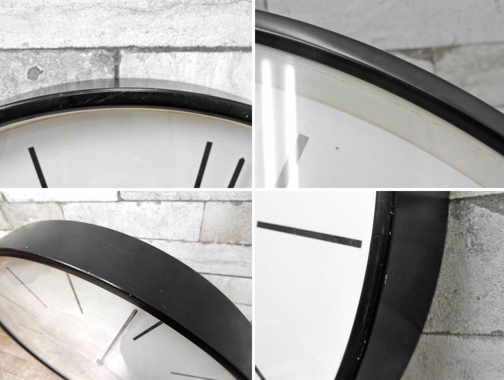オーレ・マティーセン Ole Mathiesenスタイル ウォールクロック 掛時計 ブラック Φ445 北欧 デンマーク ●