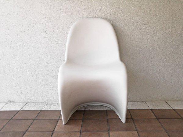 ヴィトラ vitra パントンチェア Panton Chair ホワイト ヴェルナー・パントン Panton スタッキングチェア ミッドセンチュリー スペースエイジ 定価¥36,300- ◇