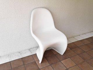 ヴィトラ vitra パントンチェア Panton Chair ホワイト ヴェルナー・パントン Verner Panton デザイン スタッキングチェア ミッドセンチュリー スペースエイジ ◇