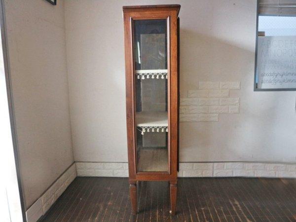 英国 ヴィンテージ Vintage キュリオケース ディスプレイケース 4段 ◎