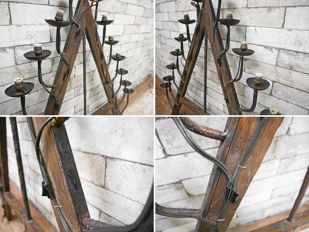 アンティ—ク Antique Style ウォールシャンデリア 15灯 照明 クラッシック デコレーション ●