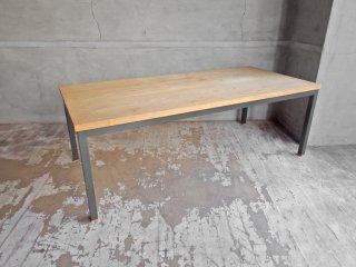 ノートファニチャー naut furniture アトリエローテーブル Atelier low table タモ無垢材 ナチュラルデザイン 定価61,000円♪