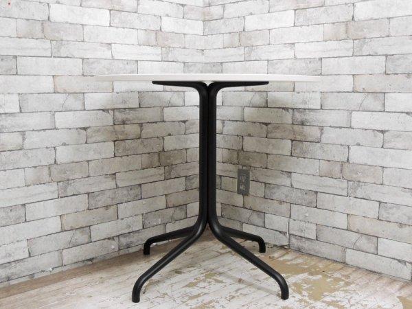 ヴィトラ vitra ベルヴィル ラウンドテーブル Belleville Round Table インドア用 メラミンホワイト天板 ロナン&エルワン・ブルレック ●