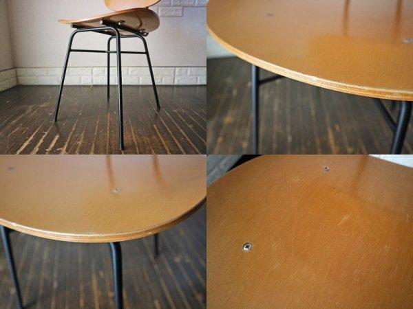 グラフ graf プランクトンチェア Plankton chair チーク材 アイアン ダイニングチェア ◎