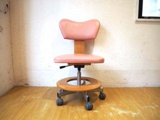 カリモク Karimoku 学習椅子 デスクチェア 回転 昇降 キャスター付 ワークチェア XT1703PN ★