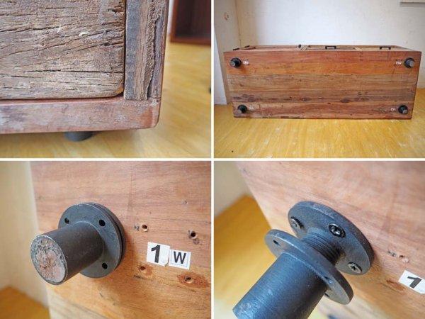 ジャーナルスタンダードファニチャー journal standard Furniture ブレダ BREDA TVボード AVボード 古材リメイク ★