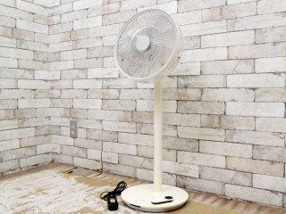 バルミューダ BALMUDA グリーンファン2 The GreenFan2 扇風機 ホワイト EGF-1100 リモコン付き 2012年製 ●