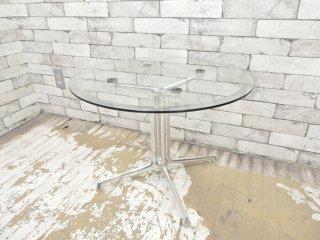 ハーマンミラー Herman Miller イームズ ラフォンダベーステーブル Eames Lafonda Base Table Φ60 サイドテーブル ●