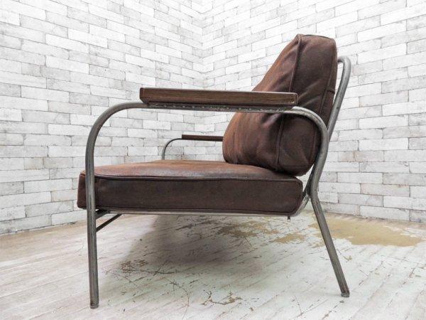 ジャーナルスタンダードファニチャー journal standard Furniture ラヴァル LAVAL SOFA 2P インダストリアル ●