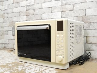 ゼネラルエレクトリック General Electric GE オーブングリルレンジ KE1078 2003年製 レトロデザイン グットデザイン賞受賞 廃番希少品 ●