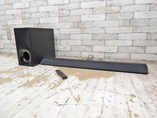 ソニー SONY サウンドバー ホームシアターシステム 2.1ch スピーカー HT-CT380 2017年製  SA-CT380 SA-WCT380 薄型 Bluetooth オーディオ ●