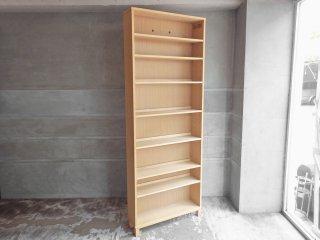 無印良品 MUJI オーク材 組み合わせて使える木製収納 高さ212cm 本棚 ブックシェルフ♪