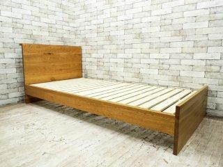 クラッシュゲート CRASH GATE イージーライフ Easy Life クモン ベッド KUMON BED S シングルサイズ オーク無垢材 定価:82,080円 ●
