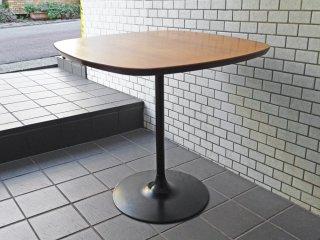 グラフ graf プランクトンテーブル Plankton table ダイニングテーブル カフェテーブル チーク材天板 スチール脚 ■