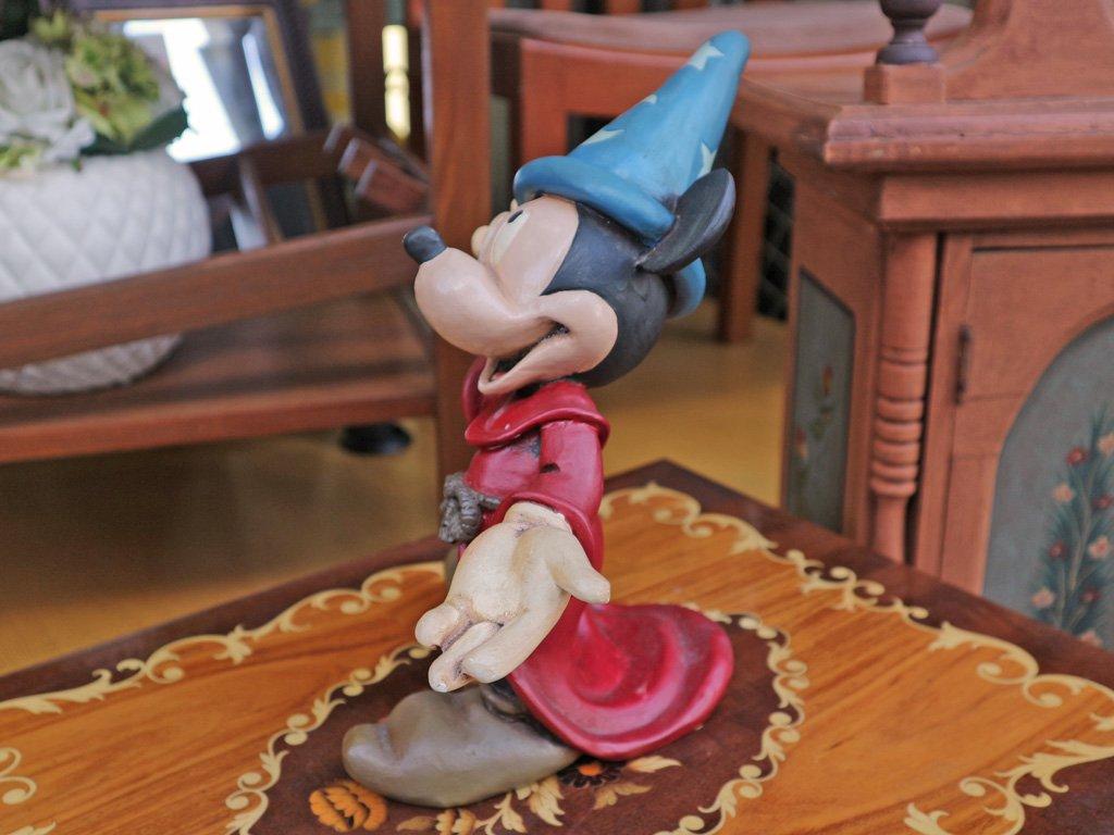 ディズニー DISNEY ファンタジア FANTASIA ミッキーマウス 魔法使いの弟子 80's vintage 26cm フィギュア ◎
