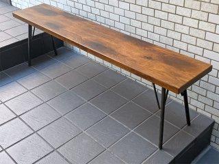 アクメファニチャー ACME Furniture グランビュー Grandview ベンチ BENCH 150 オーク材 無垢 インダストリアル■