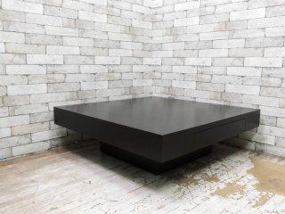 イデー IDEE デフォー De-foe スクエア ローテーブル SQUARE LOW TABLE 引き出し付 廃番カラー モダンデザイン ●