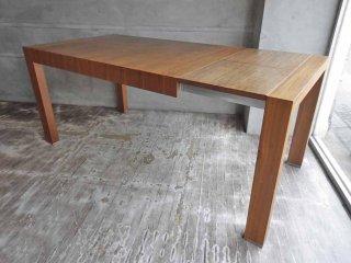 モーダエンカーサ moda en casa インバイト エクステンション ダイニングテーブル invite 130-180 table ウォールナット ♪