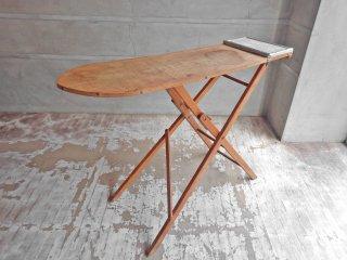 UKアンティーク UK Antique スタンド式 アイロン台 折り畳み テーブル コンソール ♪