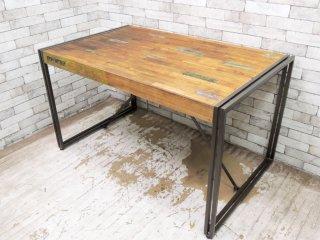 ディーボディ d-Bodhi フェルム FERUM ダイニングテーブル 幅130cm インダストリアル アスプルンド ASPLUND 取扱 ●