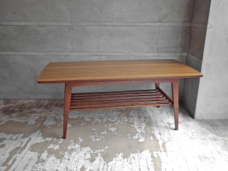 カリモク60 karimoku60 リビングテーブル Lサイズ ウォールナットカラー デコラトップ センターテーブル 幅119cm ミッドセンチュリーデザイン ♪