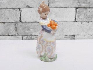 リヤドロ LLADRO オレンジがいっぱい #4841 フィギュリン スペイン製 ●