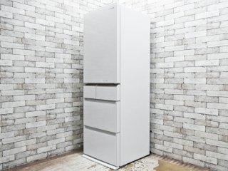 パナソニック Panasonic パーシャル搭載 冷蔵庫 406L NR-E413PV-W 2017年製 ホワイト ●