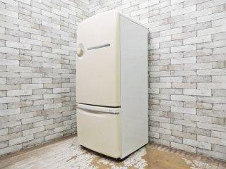 ナショナル National ウィル WiLL 冷蔵庫 260L 2001年製 エッグスタンド付き ホワイト ノスタルジックデザイン ●