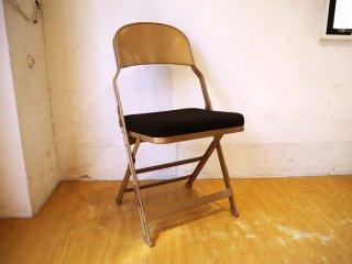 クラリン CLARIN フォールディングチェア 折り畳みチェア Folding chair SANDLER 廃盤 ブラック ファブリッククッション P.F.S取扱 ★