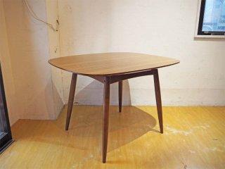 カリモク60+ karimoku Dテーブル ウォールナットカラー デコラトップ カフェテーブル ミッドセンチュリー テーブル ★