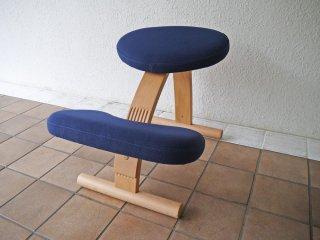 サカモトハウス SAKAMOTO HOUSE バランスイージーチェア balans Easy Chair 学習椅子 姿勢矯正 ネイビー 旧 リボ Rybo 社 ◇