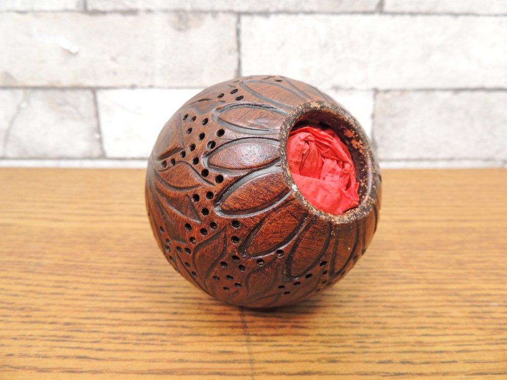 ラルチザン パフューム L'ARTISAN PARFUMEUR アンブル ボール L BOULE D'AMBRE L パフューム フレグランス オブジェ 手彫り ●